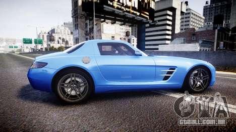 Mersedes-Benz SLS AMG 2010 para GTA 4 esquerda vista