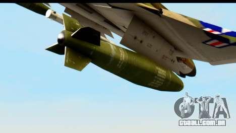 F-4 Vietnam War Camo para GTA San Andreas vista direita