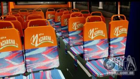 Dodge Ram Microbus para GTA San Andreas traseira esquerda vista