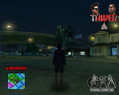 C-HUD Tawer By Flocky para GTA San Andreas terceira tela