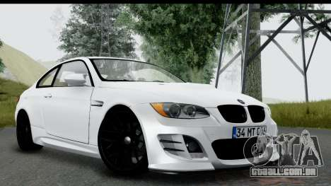 BMW M3 E92 Hamann Edition para GTA San Andreas