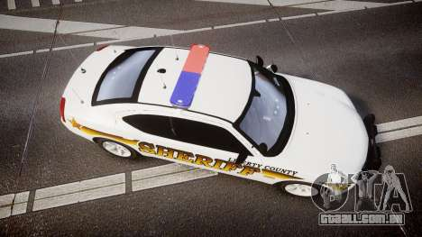 Dodge Charger 2006 Sheriff Liberty [ELS] para GTA 4 vista direita