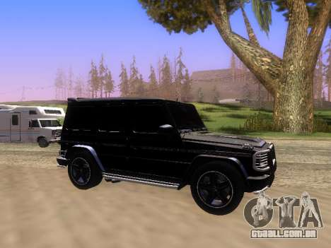 Mercedes-Benz G55 AMG para GTA San Andreas vista interior