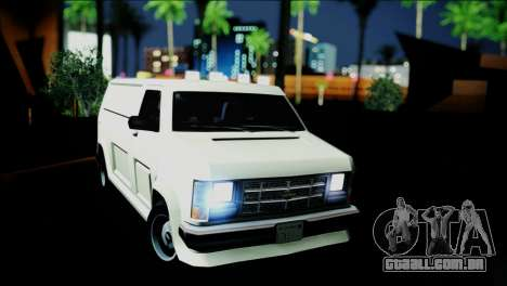Burrito eXqable Customs para GTA San Andreas