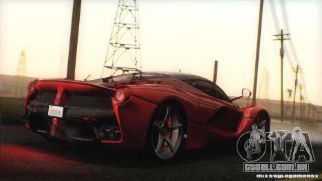 GTA SA ENB - Z.A. Project 2015 para GTA San Andreas por diante tela