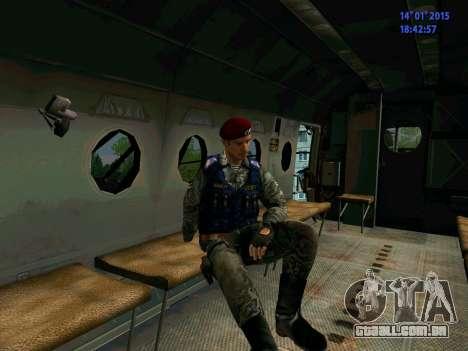 O Capataz Da Águia para GTA San Andreas sexta tela