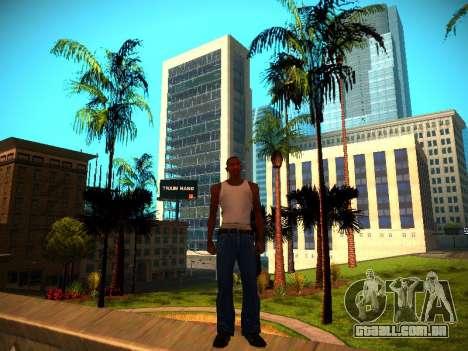 ENB v1.3 para PC fraco para GTA San Andreas por diante tela
