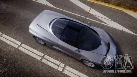 BMW Italdesign Nazca C2 v5.1 para GTA 4 vista direita