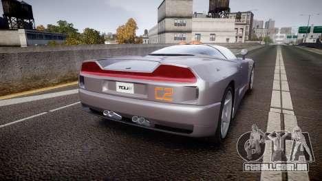 BMW Italdesign Nazca C2 v5.1 para GTA 4 traseira esquerda vista