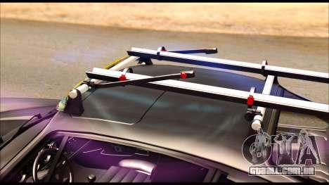 Porsche 911 1980 Winter Release para GTA San Andreas vista traseira