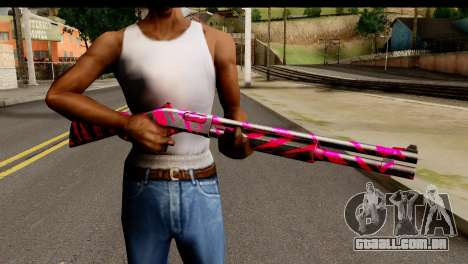 Red Tiger Shotgun para GTA San Andreas terceira tela