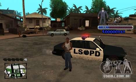 FBI C-HUD para GTA San Andreas segunda tela