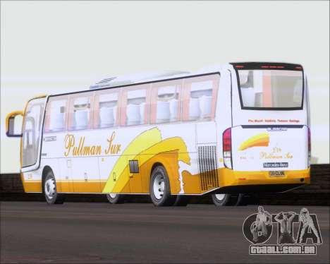 Busscar Vissta Buss LO Pullman Sur para vista lateral GTA San Andreas