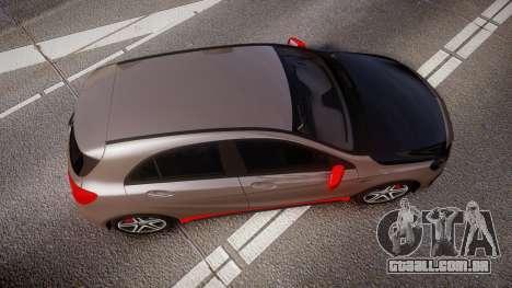 Mersedes-Benz A45 AMG PJs4 para GTA 4 vista direita