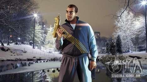 Inverno telas de inicialização para GTA 4 quinto tela