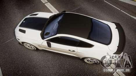 Ford Mustang GT 2015 SPEEDCREED para GTA 4 vista direita