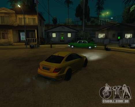 ENB by Robert v8.3 para GTA San Andreas nono tela