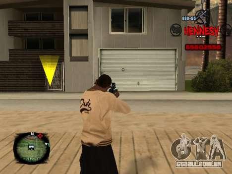 C-HUD Hennesy para GTA San Andreas segunda tela