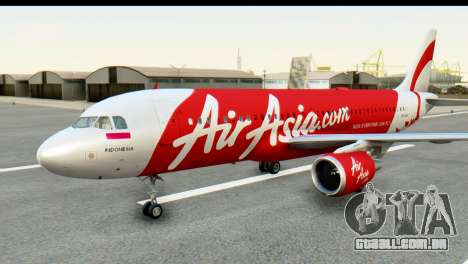 Airbus A320-200 Indonesia AirAsia para GTA San Andreas