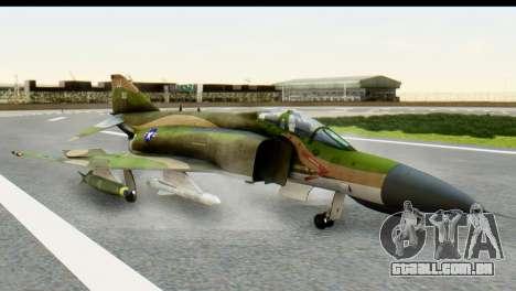 F-4 Vietnam War Camo para GTA San Andreas