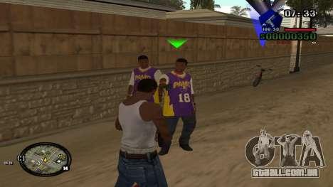 C-HUD by Kidd para GTA San Andreas segunda tela