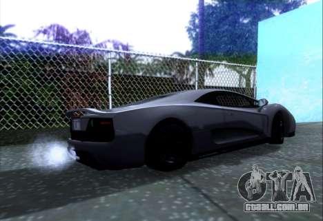 Scalfati GT (Watch Dogs) para GTA San Andreas esquerda vista