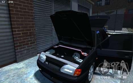 VAZ 2114 para GTA 4 vista interior