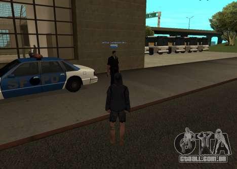 Novo HP color dos jogadores para GTA San Andreas terceira tela
