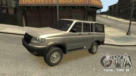 UAZ Patriot Pickup v.2.0 para GTA 4