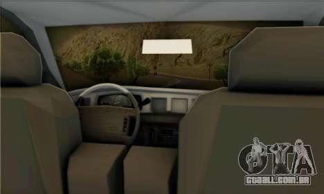 Ford Crown Victoria NY Taxi para GTA San Andreas vista direita
