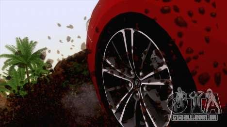 Toyota GT86 (ZN6) 2012 para GTA San Andreas vista superior