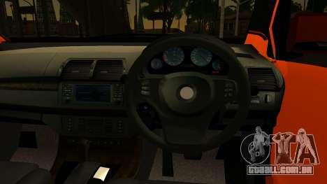 Toyota Avanza Veloz 2012 para GTA San Andreas traseira esquerda vista