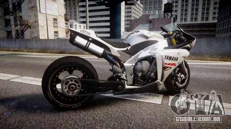 Yamaha YZF-R1 Custom PJ1 para GTA 4 esquerda vista