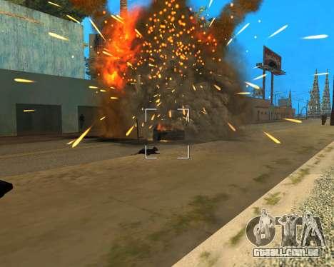 Ledios New Effects para GTA San Andreas quinto tela