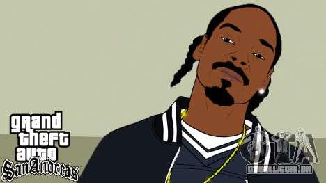 Arranque telas de Rap Americano V2 para GTA San Andreas