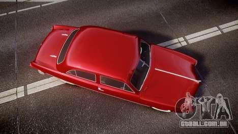 Ford Custom Tudor 1949 para GTA 4 vista direita