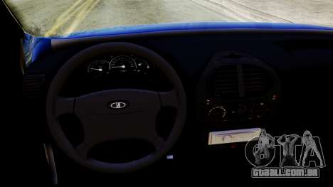 VAZ 1118 para GTA San Andreas vista direita
