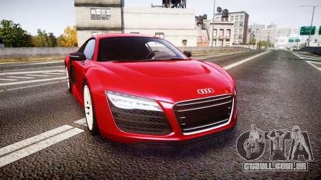 Audi R8 E-Tron 2014 para GTA 4