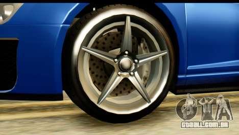 GTA 5 Obey 9F Cabrio para GTA San Andreas vista direita