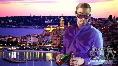 As telas de carregamento, Riviera francesa para GTA 4