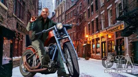 Inverno telas de inicialização para GTA 4 terceira tela