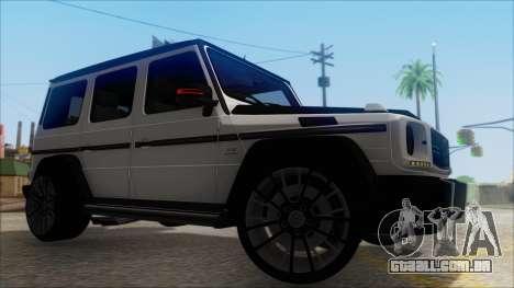 Mersedes-Benz G500 Brabus para GTA San Andreas vista direita