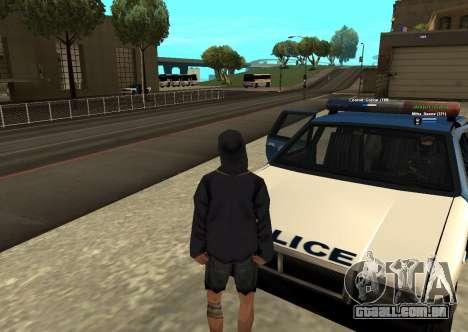 Novo HP color dos jogadores para GTA San Andreas