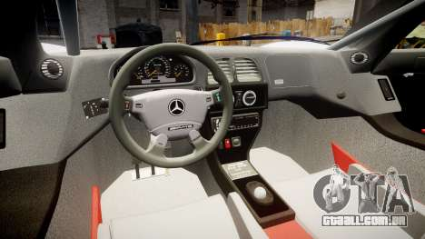 Mercedes-Benz CLK LM 1998 PJ1 para GTA 4 vista de volta