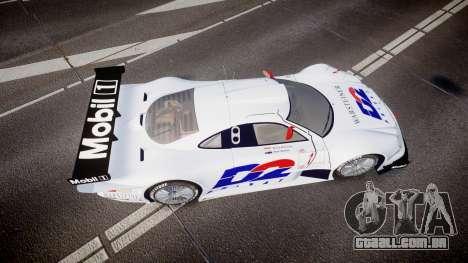 Mercedes-Benz CLK LM 1998 PJ1 para GTA 4 vista direita