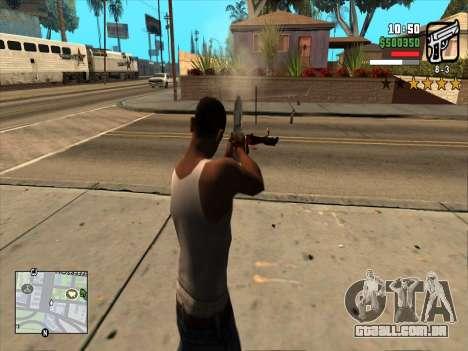 Mobile C-HUD para GTA San Andreas terceira tela
