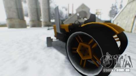 Tractor Kor4 para GTA San Andreas vista direita