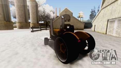 Tractor Kor4 v2 para GTA San Andreas esquerda vista