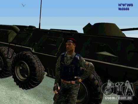 O Capataz Da Águia para GTA San Andreas por diante tela