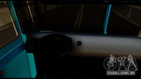 Chevrolet Bus para GTA San Andreas vista traseira